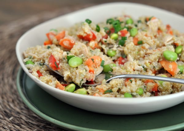 Thai-style Chicken Quinoa Salad