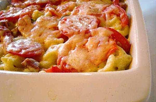 Tuscan Macaroni and Cheese Bake