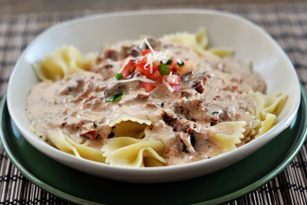 Quick Tuscan Pasta Sauce