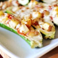 The Ultimate Stuffed Zucchini