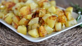 Golden Skillet Potatoes