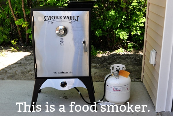 this is a smoker