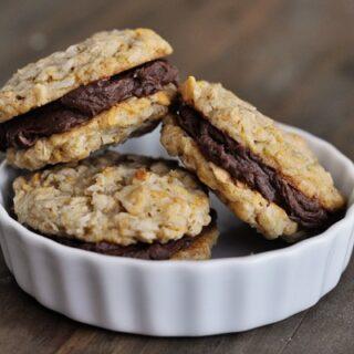 Fudge Filled Double Cruncher Cookies