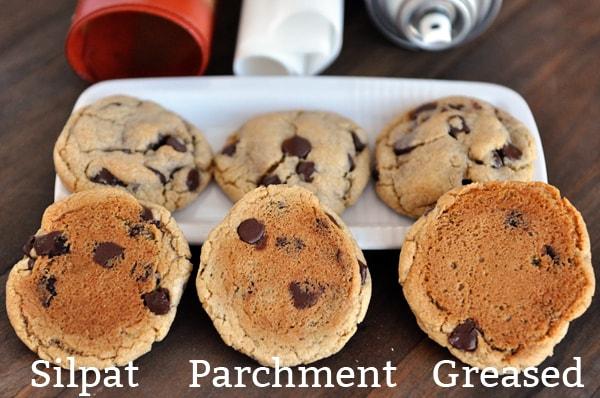 bottoms of cookies