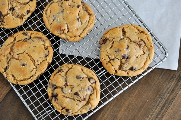 Salted Peanut Butter Cup Chocolate Chip Cookies