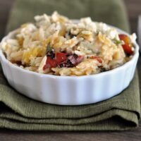Fire Roasted Mac and Cheese with Feta