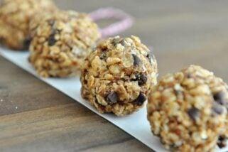 No-Bake Healthy Granola Bites