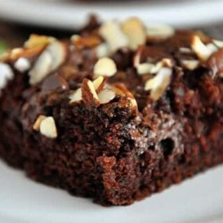 Chocolate Zucchini Cake with Brown Sugar Streusel
