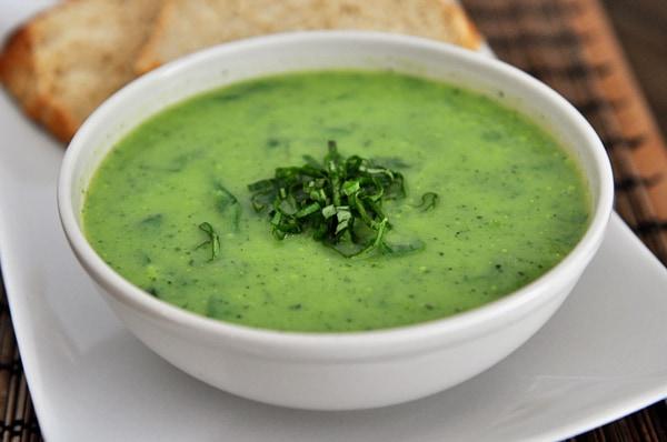 Creamy Spinach Chicken Soup