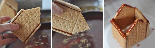 DIY Graham Cracker Houses