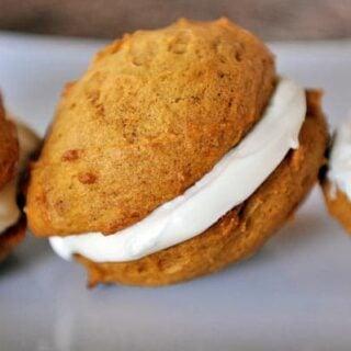 Pumpkin Cream Sandwiches