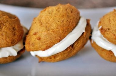 Pumpkin Cream Sandwiches