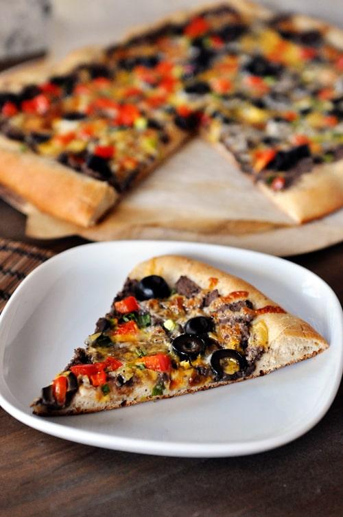 Black Bean Pizza