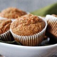 Healthy Applesauce Carrot Muffins {a.k.a. Carrot Cake Muffins}