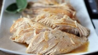 Slow Cooker Turkey with No-Fuss Gravy