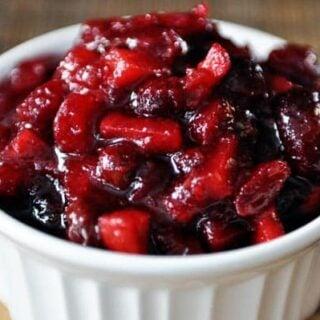 Fresh Cranberry Chutney