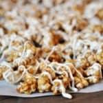 Cinnamon Roll Caramel Popcorn