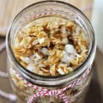 Salty Sweet Granola and Coconut Yogurt