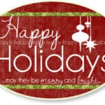 Happy Holidays! {Plus 15 of My Favorite Quick Meals for the Post-Holiday Craze}