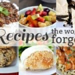 Recipes the World Forgot {Part 7}