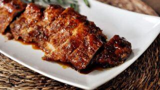 Roasted Maple-Glazed Pork Tenderloin
