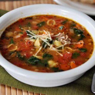 Tuscan Sausage and White Bean Soup