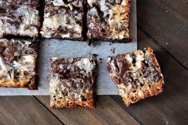 Chocolate 7-Layer Bars