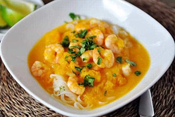 Butternut Squash and Coconut Curry Soup