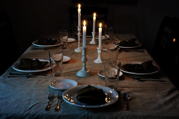 Candlelight Dinner Family-Style
