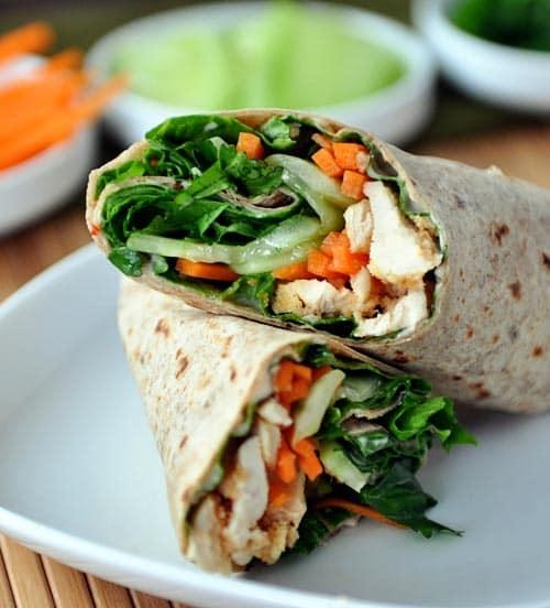Thai Chicken Crunch Wrap