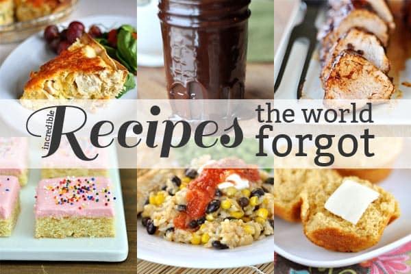 Recipes the World Forgot