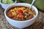 Fire Roasted Tomato and Black Bean Soup