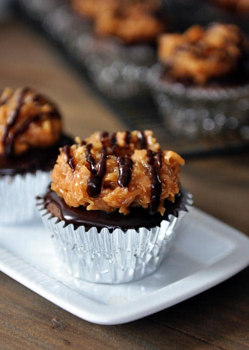 Samoas Cupcakes