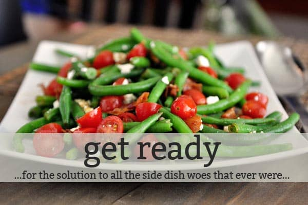 Side Dish Planner