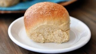 Fluffy Whole Wheat Dinner Rolls