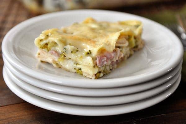 Lasagna Cordon Bleu