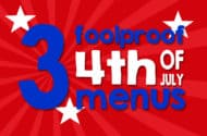4th of July Menus