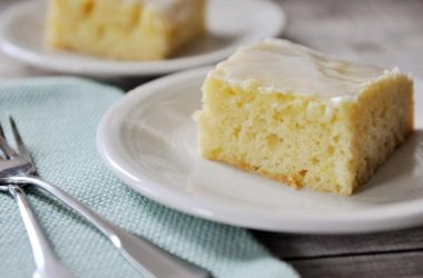 Lemon Yogurt Sheet Cake