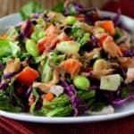 Chopped Thai Crunch Salad with Sweet and Spicy Dressing