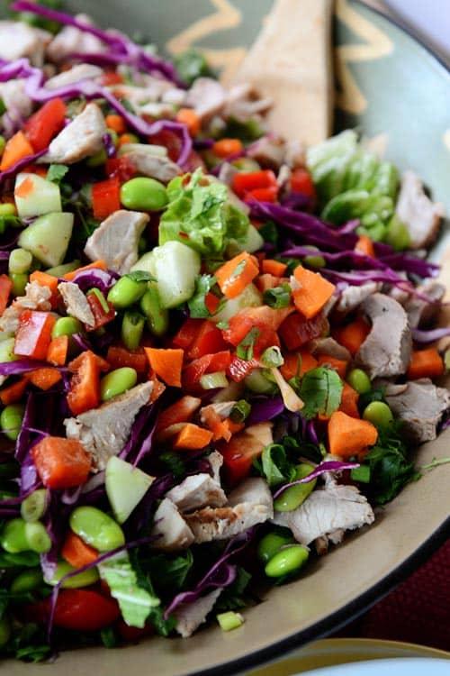 Chopped Thai Crunch Salad