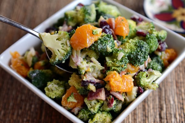 Mandarin Broccoli Salad