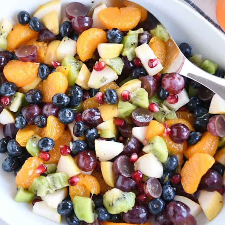 Easy Winter Fresh Fruit Salad