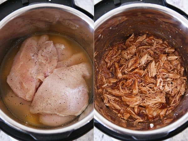 cooking bbq chicken in instant pot