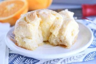 Homemade Orange Sweet Rolls {New and Improved}