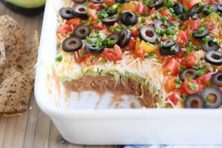 The Best 7-Layer Dip {New and Improved}