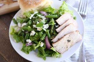 Amazing Grilled Pork and Veggie Salad