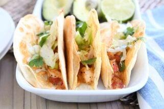 Baked Crispy Shrimp Tacos