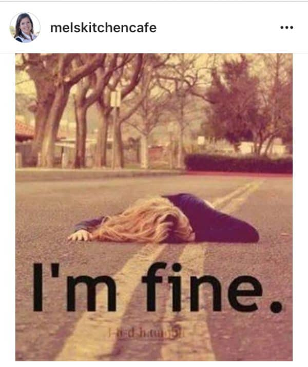 i am fine meme