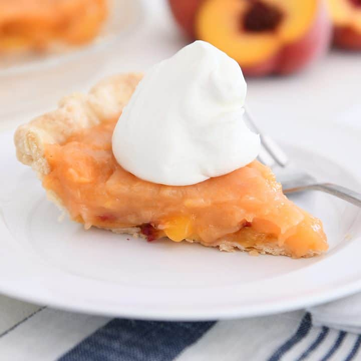 Amazing Fresh Peach Pie