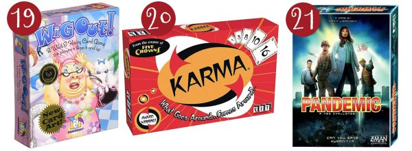 wig out game, karma, pandemic game